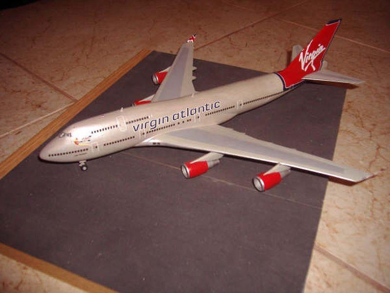 Maqueta Boeing 747 Hasegawa 01