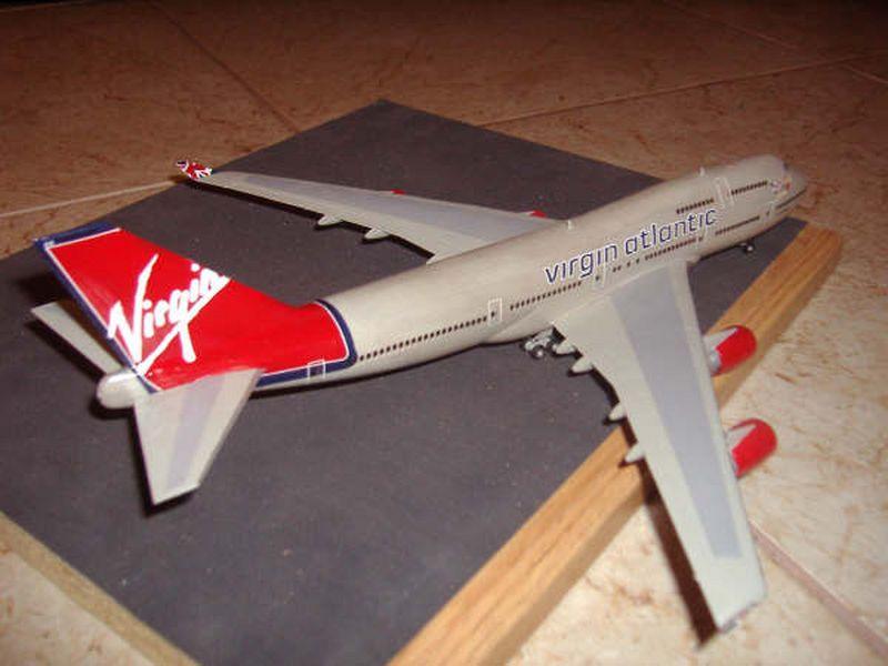 Maqueta Boeing 747 de Hasegawa 03