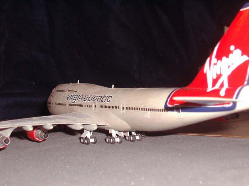 Maqueta Boeing 747 de Hasegawa 04