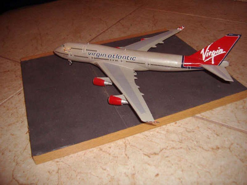 Maqueta Boeing 747 de Hasegawa 05