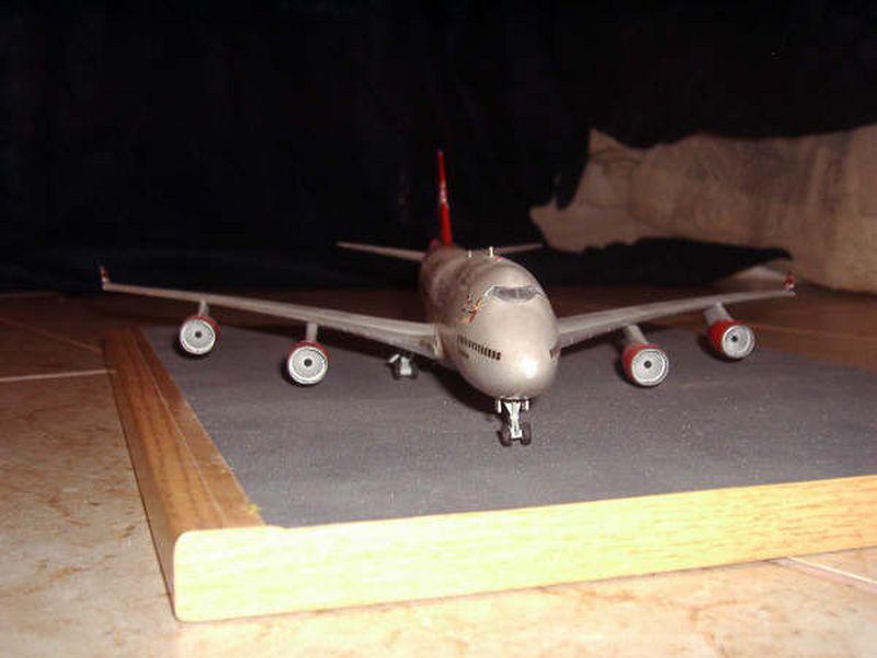 Maqueta Boeing 747 de Hasegawa 06