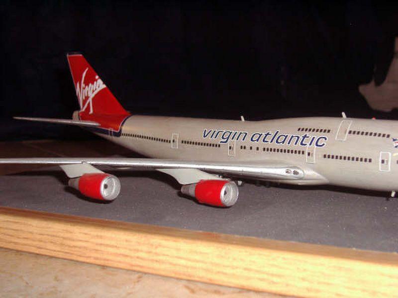 Maqueta Boeing 747 de Hasegawa 07