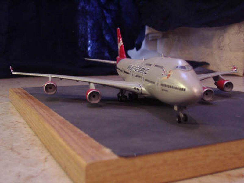 Maqueta Boeing 747 de Hasegawa 08