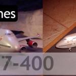 Maqueta Boeing 747-400 Virgin Atlantic (Hasegawa 1/200)