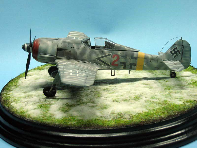 Maqueta Fw-190 de Tamiya 02