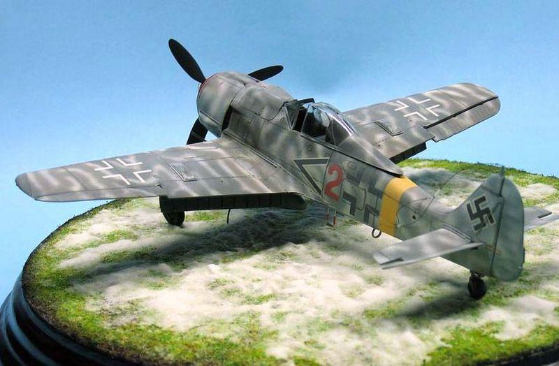 Maqueta Fw-190 de Tamiya 03
