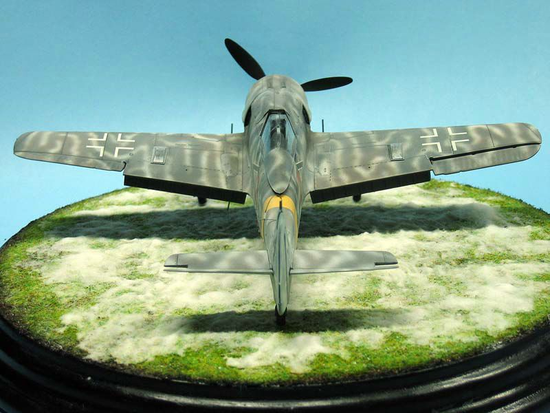 Maqueta Fw-190 de Tamiya 04