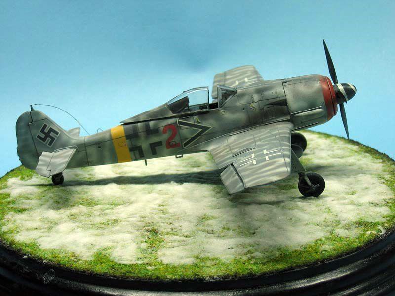 Maqueta Fw-190 de Tamiya 06