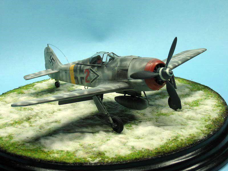 Maqueta Fw-190 de Tamiya 07