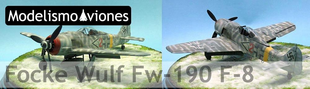 Maqueta Fw-190 de Tamiya