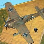 Maqueta Fw-190 Trop 01