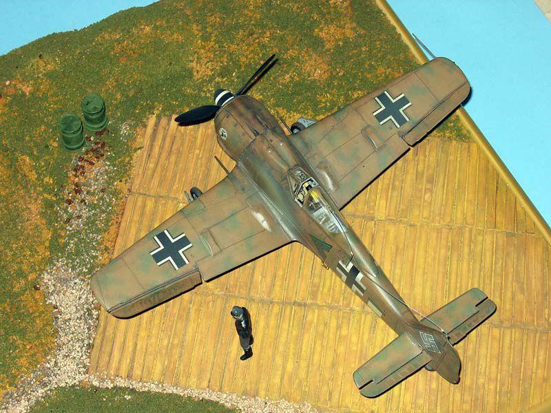 Maqueta Fw-190 Trop 02