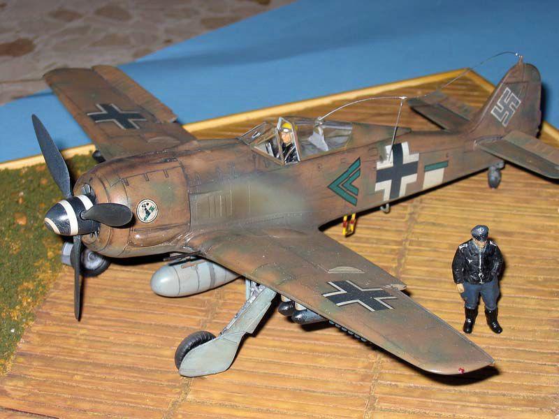 Maqueta Fw-190 Trop 05