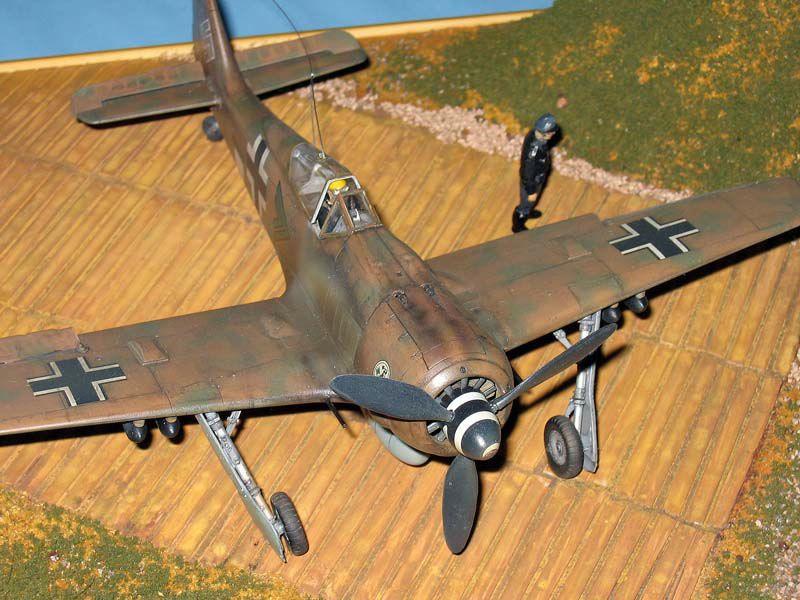 Maqueta Fw-190 Trop 06