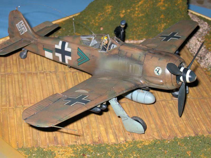 Maqueta Fw-190 Trop 07