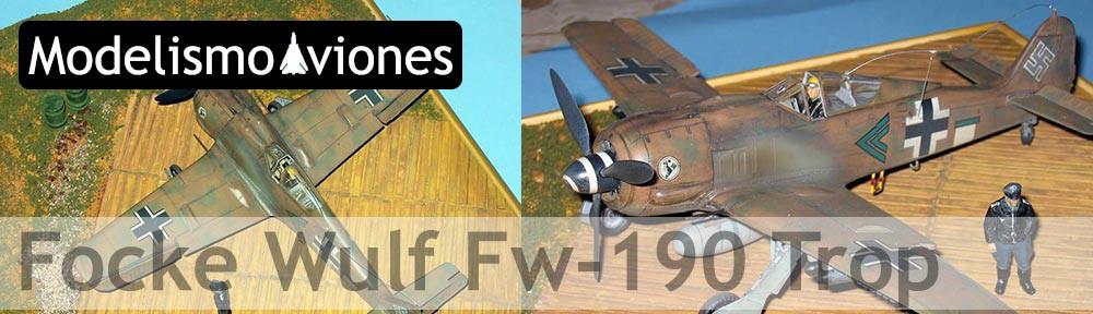 Maqueta Tamiya Fw-190 Trop