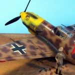 Maqueta Hasegawa Bf-109 Trop 01