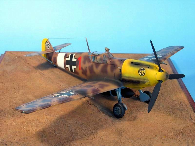 Maqueta Hasegawa Bf-109 Trop 04