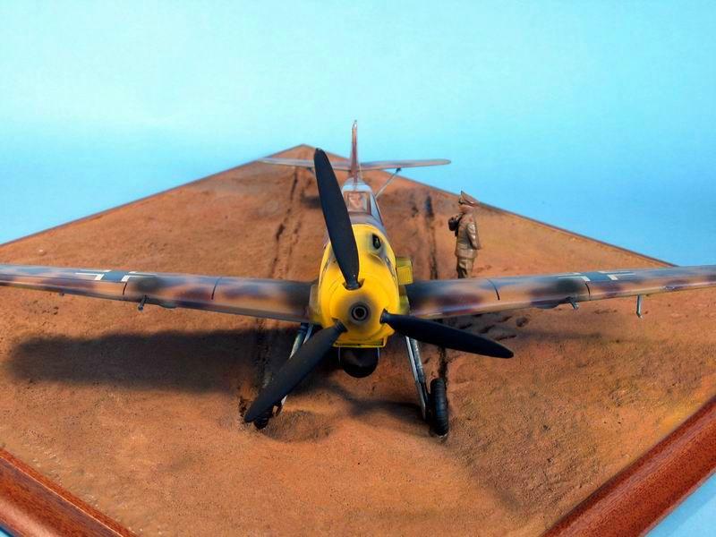Maqueta Hasegawa Bf-109 Trop 05