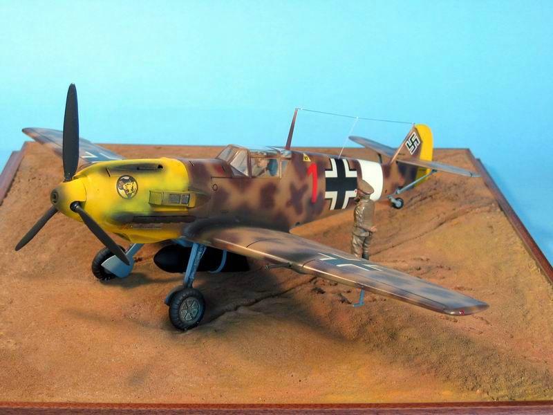Maqueta Hasegawa Bf-109 Trop 06