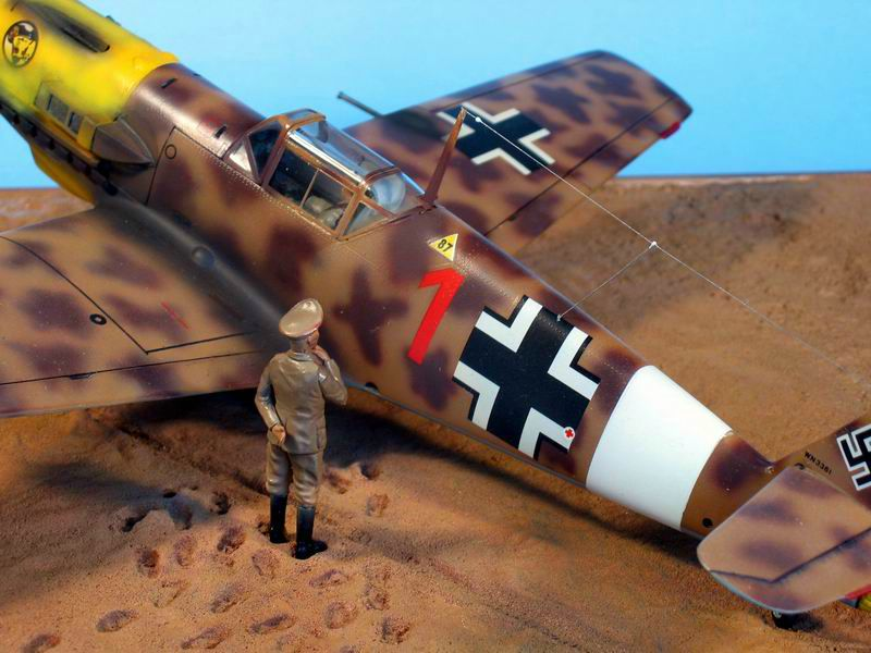 Maqueta Hasegawa Bf-109 Trop 07