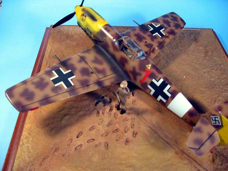 Maqueta Hasegawa Bf-109 Trop 08