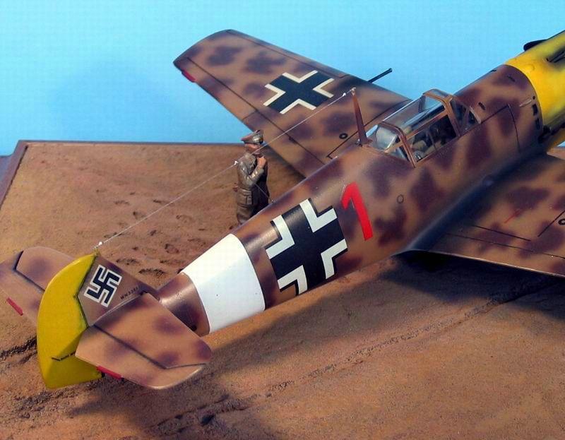 Maqueta Hasegawa Bf-109 Trop 09
