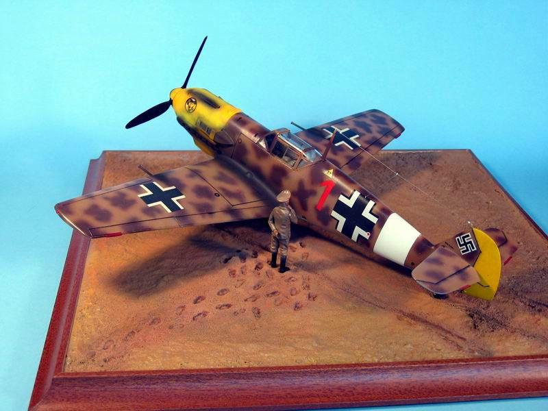 Maqueta Hasegawa Bf-109 Trop 10