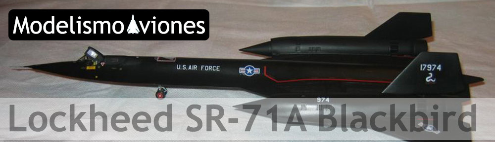 Maqueta Italeri SR-71