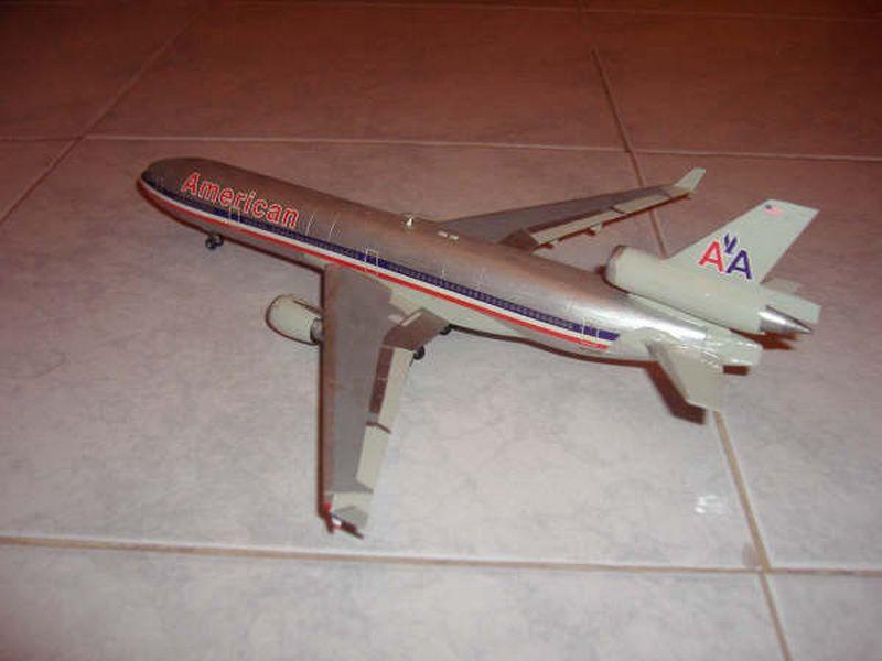 Maqueta MD-11 de Hasegawa 03