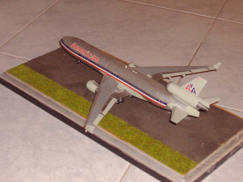 Maqueta MD-11 de Hasegawa 04