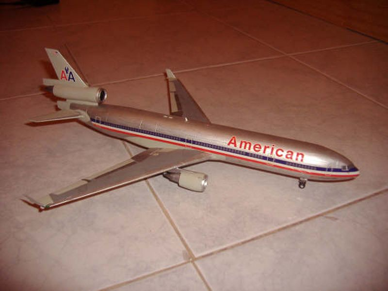 Maqueta MD-11 de Hasegawa 07