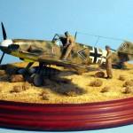 Maqueta Bf-109 G4 01