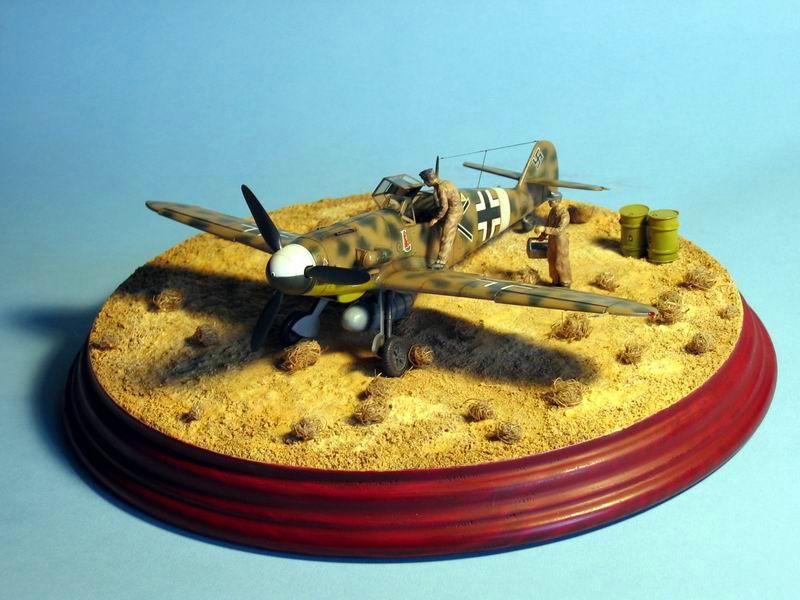 Maqueta Bf-109 G4 02
