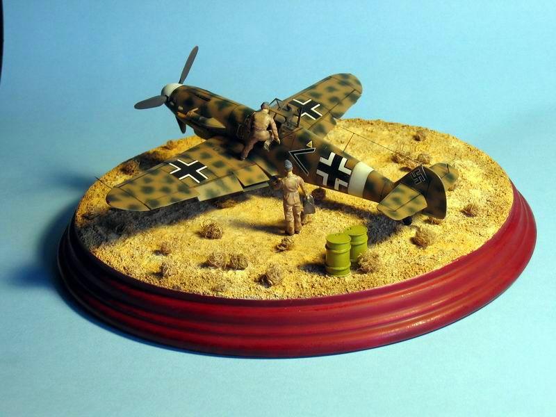 Maqueta Bf-109 G4 03