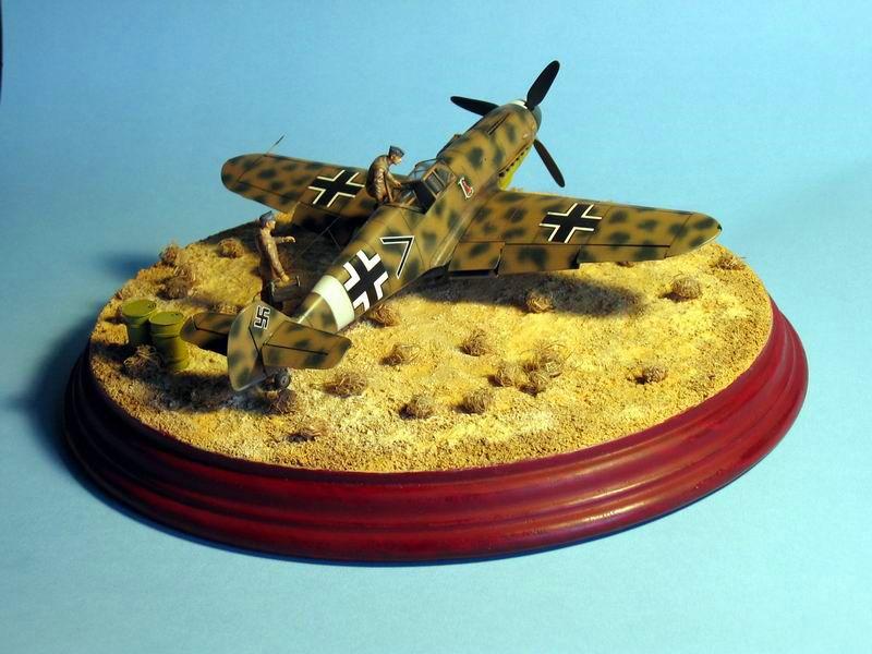Maqueta Bf-109 G4 04
