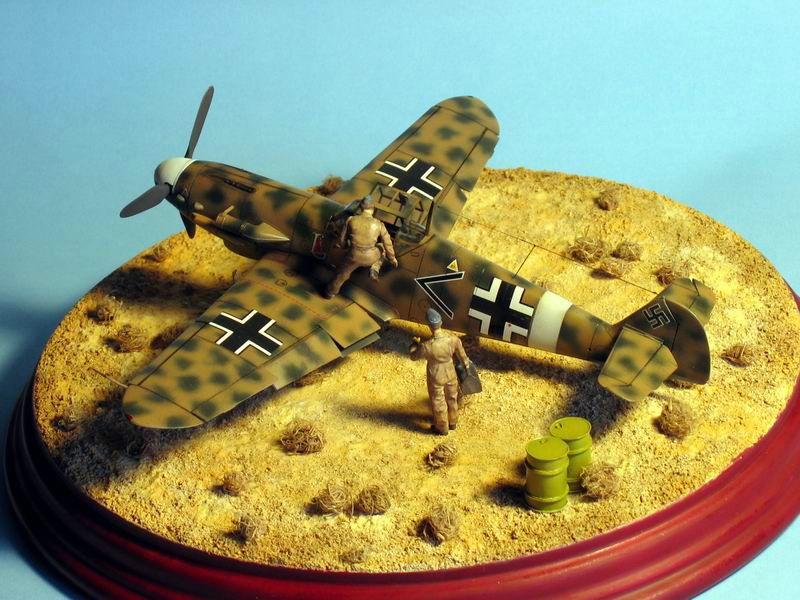 Maqueta Bf-109 G4 05