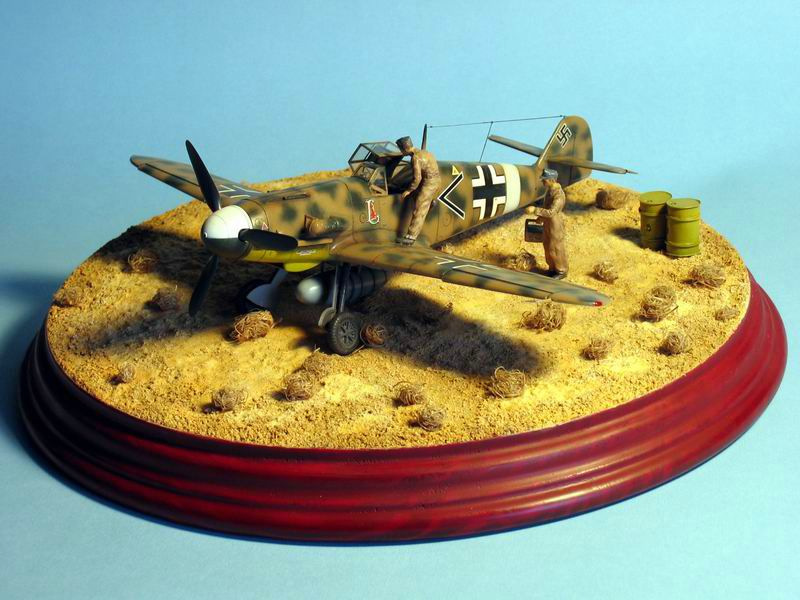 Maqueta Bf-109 G4 06