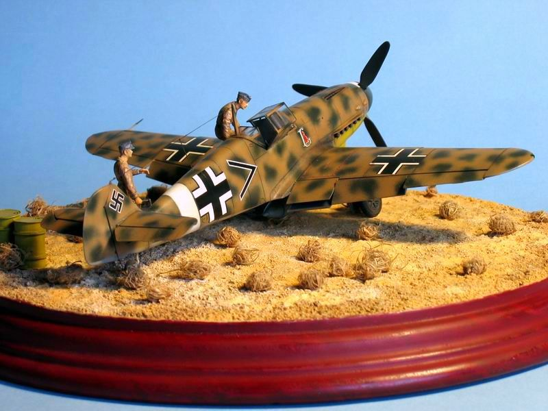 Maqueta Bf-109 G4 08