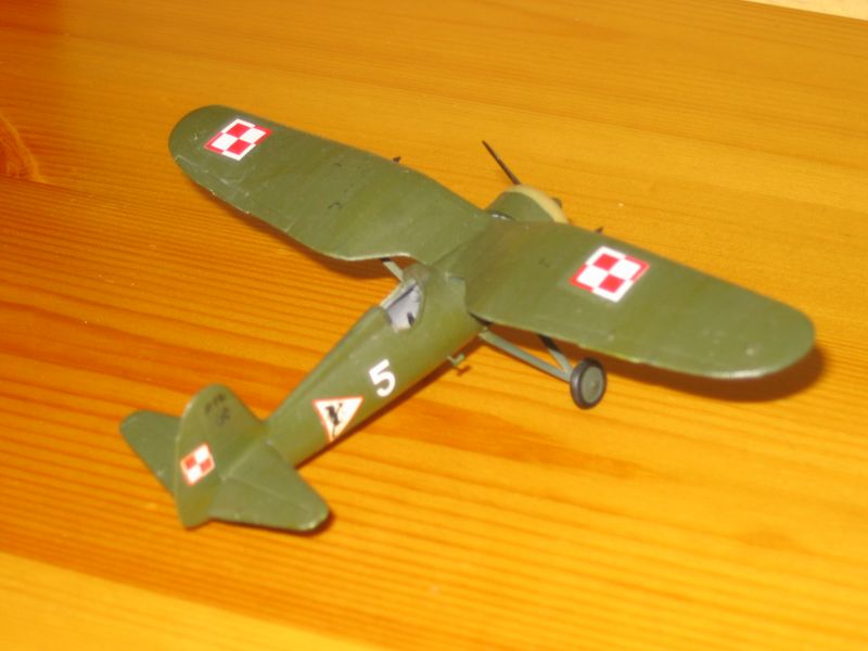 Maqueta Avión P11 03