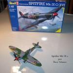 Maqueta Spitfire Mk.IX de Revell 01
