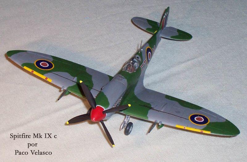 Maqueta Spitfire Mk.IX de Revell 02