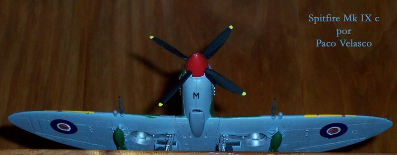 Maqueta Spitfire Mk.IX de Revell 03