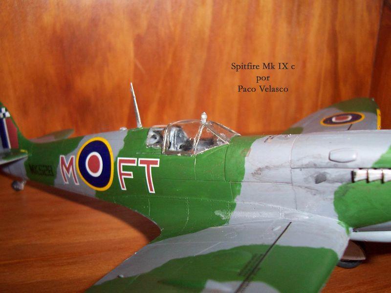 Maqueta Spitfire Mk.IX de Revell 04