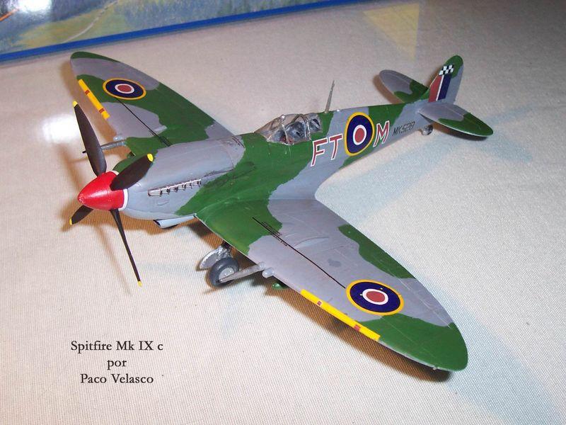 Maqueta Spitfire Mk.IX de Revell 05