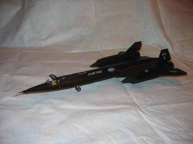 Maqueta Italeri SR-71A 01
