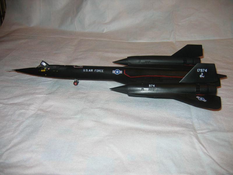Maqueta Italeri SR-71A 02