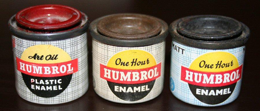 antigua pintura para maquetas Humbrol