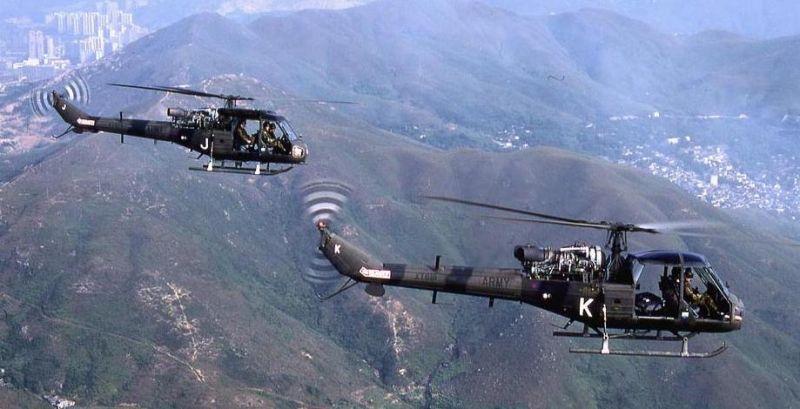 Helicóptero Westland Scout