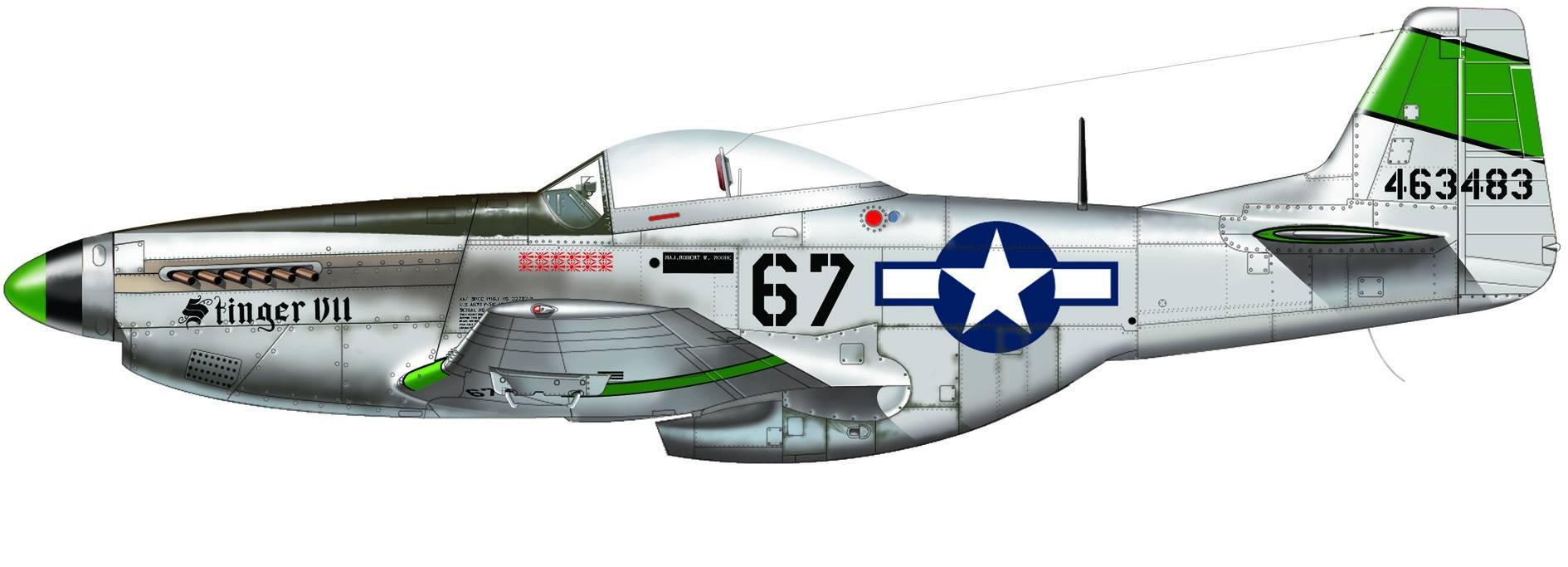 P-51 Pacific Aces de Italeri 02